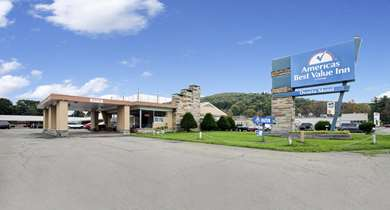 Pet Friendly Americas Best Value Inn in Bradford, Pennsylvania