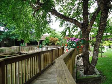 Pet Friendly Magnuson Grand Hotel And Conference Center in Raymond, Illinois
