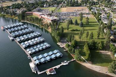 Pet Friendly Red Lion Templin's Hotel on the River in Post Falls, Idaho